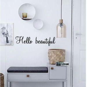 Hello Beautiful Wall Sticker